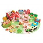 EverEarth - Wooden Organic Farm Set (53pc)