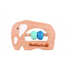 EverEarth - Small Wooden Rattle (4 designs to choose from)
