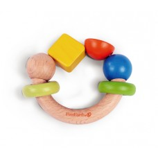 Everearth Wooden Rattle (Grasping Toy) - 3 styles to choose