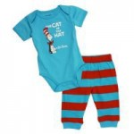 Dr Seuss Cat In the Hat Bodysuit