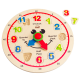 Hape Wooden Happy Hour Learning Clock