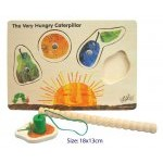 Magnetic Wooden Caterpillar Puzzle