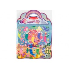 M&D - Reusable Puffy Sticker Play Set-Mermaid