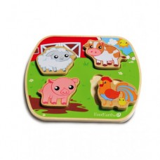 Buy Everearth Wooden Chunky Puzzles