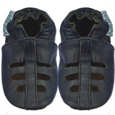 Ankle-Biters Soft soled Shoes into the blue