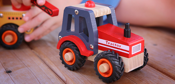 Buy Wooden Toy Vehicles Online